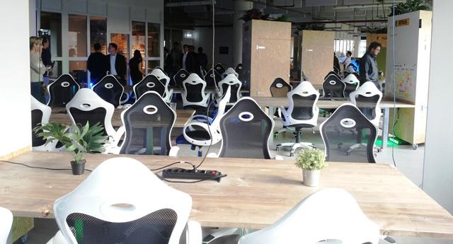 Kantoortuin van Startupbootcamp